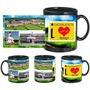 i love dehradun black mug
