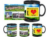 I Love Dehradun Black Mug