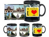 I Love Gaya Black Mug