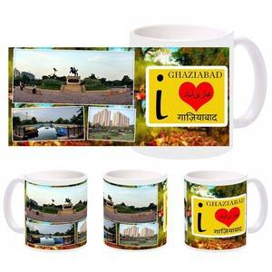 i love ghaziabad mug