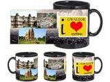 I Love Gwalior Black Mug