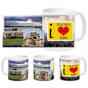 i love haora mug