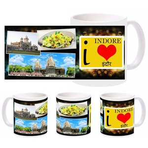 i love indore mug