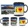 I Love Jammu Black Mug - image