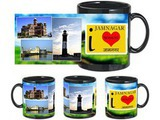 I Love Jamnagar Black Mug