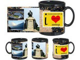 I Love Jamshedpur Black Mug
