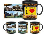 I Love Jhansi Black Mug