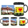 i love kanpur black mug
