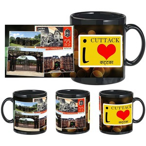 i love kataka black mug