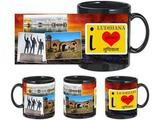 I Love Ludhiana Black Mug