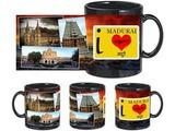 I Love Madurai Black Mug