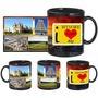 i love maisuru black mug
