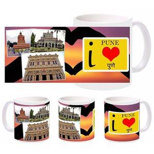 i love pune mug