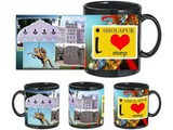 I Love Sholapur Black Mug