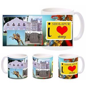 i love sholapur mug