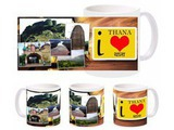 I Love Thana Mug
