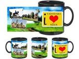 I Love Vadodara Black Mug