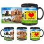 I Love Varanasi Black Mug - image
