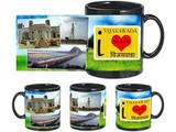 I Love Vijayawada Black Mug