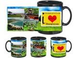 I Love Visakhapatnam Black Mug