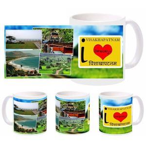 i love visakhapatnam mug