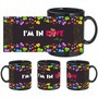In Love With You Black Mug - image