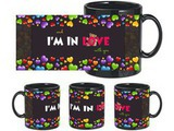 In Love With You Black Mug
