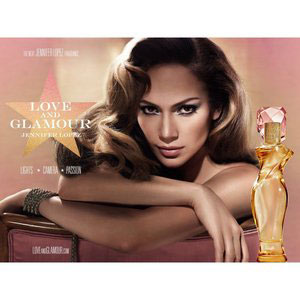 jennifer lopez love and glamour 100ml premium perfume