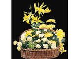 Midnight Star Charm, Lilies