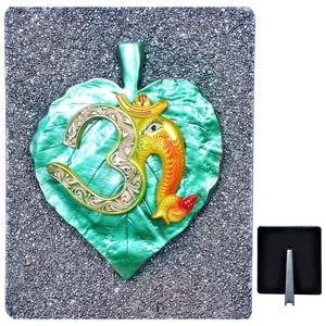 lord omkara on pan leaf idol