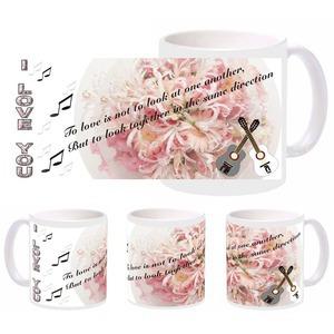 love guitar mug