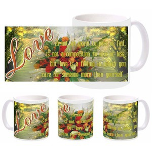 love more self mug