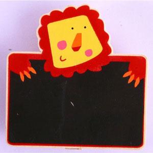 magnetic memo board wild woods red