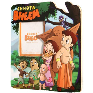 magnetic photo frame chotta bheem green meadows green 8904134706888