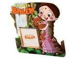 Magnetic Photo Frame Chhota Bheem Green Meadows Pink
