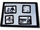 Magnetic Silver Finish Collage Frame