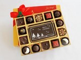 Merry Christmas with Luxury Chocolate Truffles