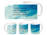 Mistake Quotes Mug