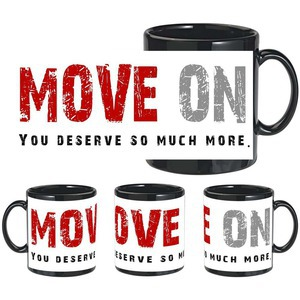 move on black mug