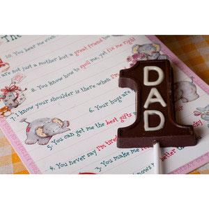 no 1 dad premium chocolates