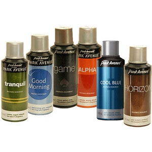 park avenue deo 6 pack body spray
