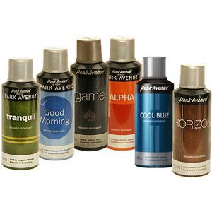 park avenue deo 6 pack body spray