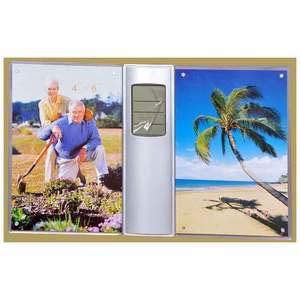 photo frame 2 photos clock