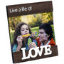 photo frame wooden love