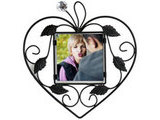 Personalized Heart Wrought Iron Frame