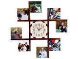 8 Photo Wall Clock