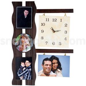 photo-wall-clock-wooden-4-photos