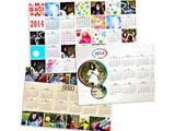 "Calendar Poster - Glossy Finish, Landscape, 12""x18"""