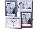 Premium Quality Multi Photo Frame with Clock