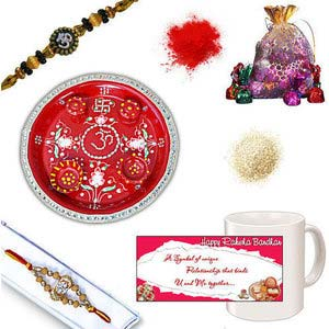 rakhi sg auspicious diamond rakhi 27024